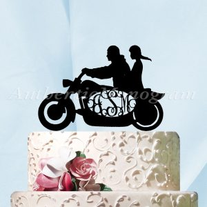 Black Acrylic Cake Toppers