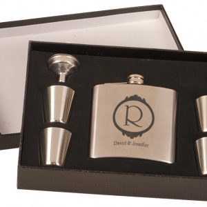 Set in Stone Flask Set