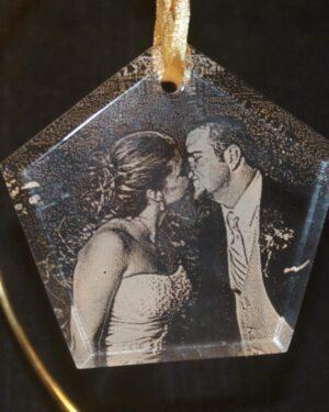 Laser Engraved Ornament