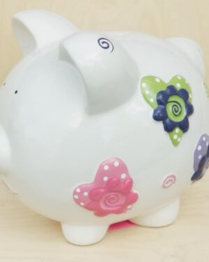 Personalized by Mrs. Claus - Piggy Banks