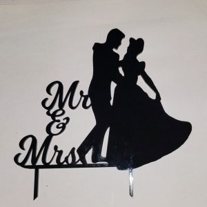 Solid Acrylic Cake Toppers