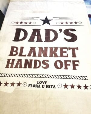 5070 Personalized Blanket