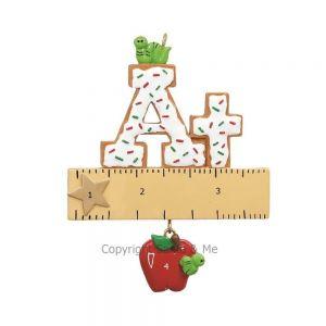 A+ Teacher Ornament