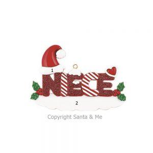 Niece Christmas Ornament
